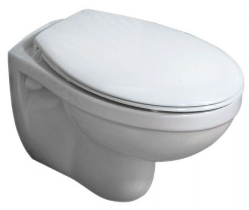 RAK Compact New Wall Hung WC Pan With Toilet Seat 520mm